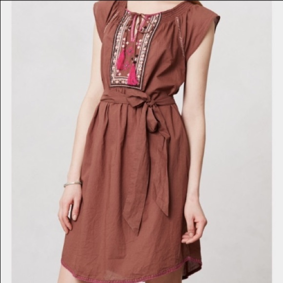 1e0fdf380dd2 Anthropologie Dresses   Maeve Marbella Boho Dress Size 4   Poshmark